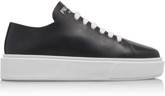 Woman Prada Leather Sneakers - ShopStyle 67f2d675a