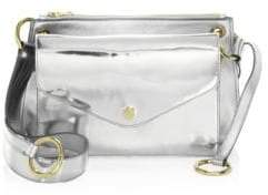 Sacai Modular Metallic Leather Crossbody Bag