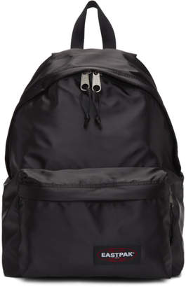 Eastpak Black Satin Padded Pakr Backpack