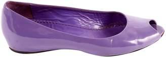 Marc Jacobs Purple Patent leather Flat