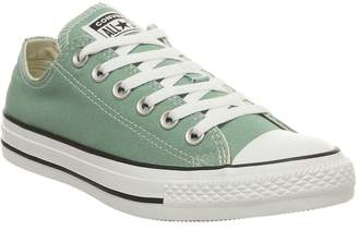 Low Trainers Mineral Teal