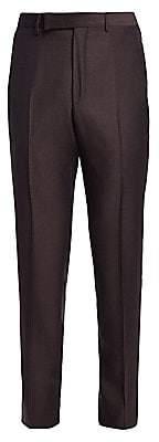 Ermenegildo Zegna Men's Wool Trousers