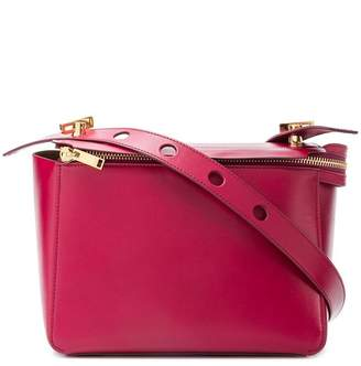 Sophie Hulme boxy top zip satchel