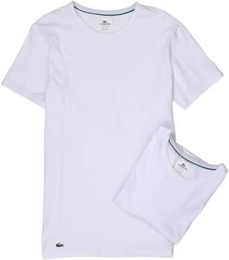 Lacoste Colours 2-Pack Crew Tee Men's Underwear