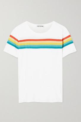 Elizabeth and James Lakota Striped Cotton-jersey T-shirt
