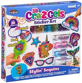 Cra-Z-Art Cra-Z-Gels Sticker Art Stylin' Sequins