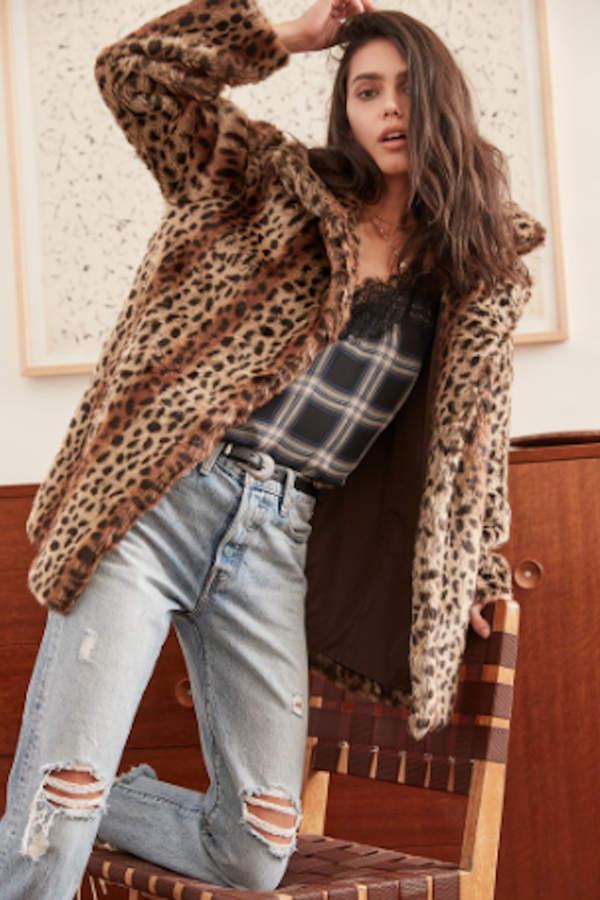 Mika Leopard Jacket