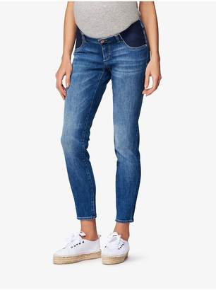 DL1961 Angel Mid Rise Maternity Skinny | Everglade
