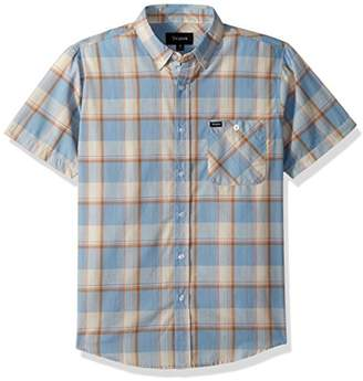 Brixton Men's Howl Standard Fit Short Sleeve Woven Shirt
