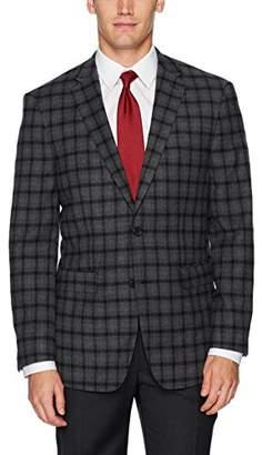 Vince Camuto Men's Modern Fit Plaid Sport Coat