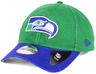 New Era Seattle Seahawks Relaxed 2Tone 9TWENTY Strapback Cap
