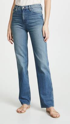 Hudson Faye High Rise Straight Jeans