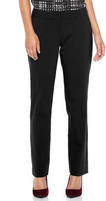 Apt. 9 Women's Apt. 9?? Torie Midrise Curvy Straight-Leg Dress Pants