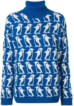 Moncler penguin turtleneck sweater