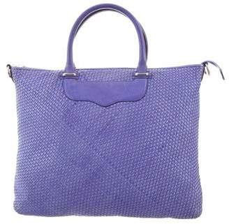 Rebecca Minkoff Woven Leather Handbag