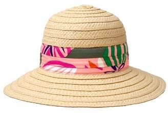 Crazy 8 Palm Straw Hat
