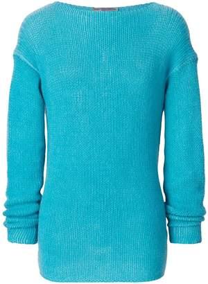 Ermanno Scervino round neck knit jumper