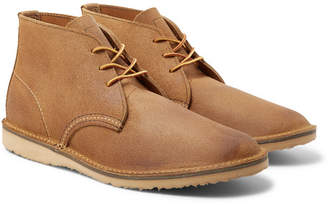 Red Wing Shoes Weekender Rough-Out Leather Chukka Boots - Men - Beige