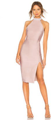 Cordelia Choker Ruched Dress in Lavender. - size XS (also in L,M,S,XXS) by the way.