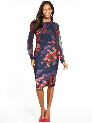 Phase Eight Callie Woven Floral Dress - Midnight
