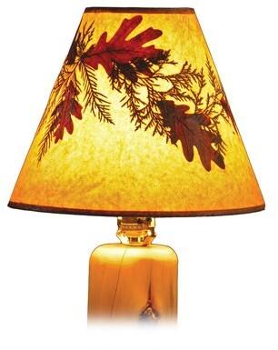 "Fireside Lodge Hickory 18"" Empire Lamp Shade Fireside Lodge"