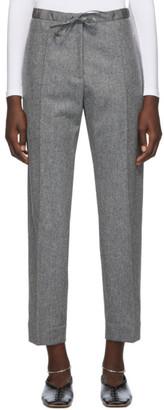 Jil Sander Grey Casual Trousers