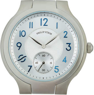 Philip Stein Teslar 40mm Round Steel Watch Head