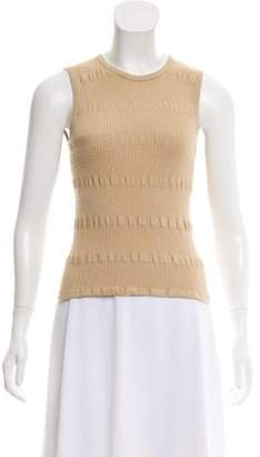 Giorgio Armani Sleeveless Knit Top
