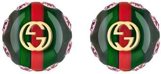 Gucci Vintage Web earrings