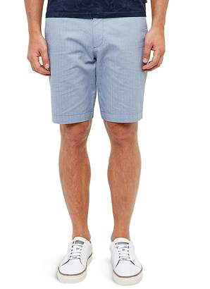 Ted Baker Herringbone Design Shorts $129 thestylecure.com