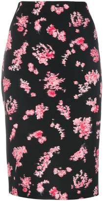 Pinko floral-print pencil skirt