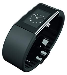 Rosendahl Ladies Watch II 43183 Black with Polished Stainless Steel Case and Black Polyurathane Strap