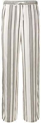 Jil Sander striped straight-leg trousers