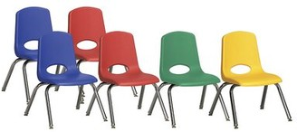 Factory Direct Partners Plastic Classroom Chair Direct Partners