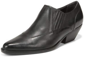 Vince Eagan Leather Ankle Booties