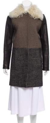 Cédric Charlier Wool Short Coat