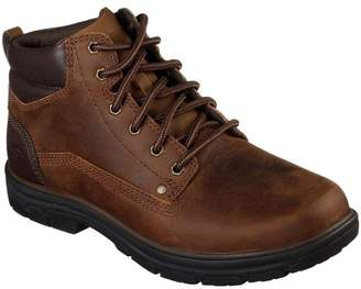 Segment Garnet Mens Casual Lace Up Leather Boots