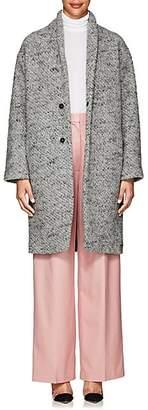Pas De Calais Women's Nubby Wool Bouclé Coat - Gray