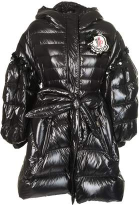 Logo Patch Padded Jacket