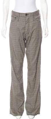 LGB Plaid High-Rise Pants w/ Tags