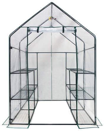 OGrow 4.67 Ft. W x 4.67 Ft. D Greenhouse
