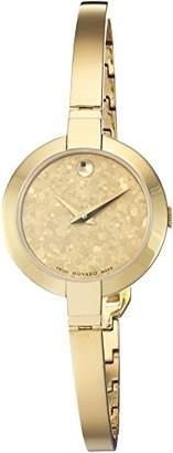 Movado Women's Swiss Quartz -Tone-Stainless-Steel Casual Watch