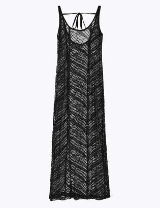 Marks and Spencer Lace Maxi Slip Beach Dress
