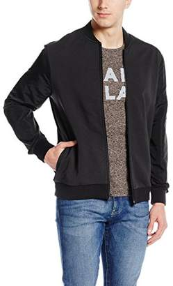 Kenneth Cole New York Men's Bomber Nylon SLV