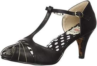 Bettie Page Women's BP250-SYLVIA Heeled Sandal