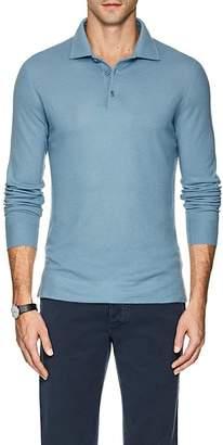 Loro Piana Men's Cashmere Polo Shirt