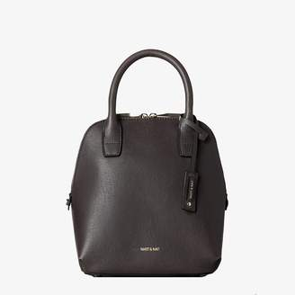 Matt & Nat Matt And Nat GESSI SMALL SATCHEL - CHARCOAL