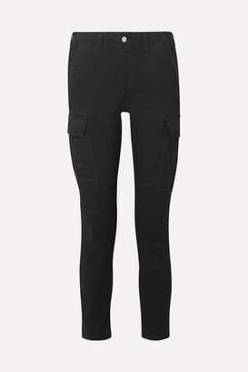 Amiri High-rise Slim-leg Jeans - Black