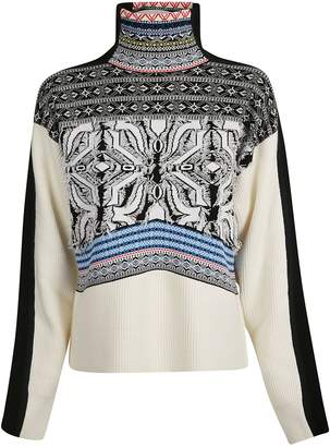 Sportmax Geometric Pattern Sweater