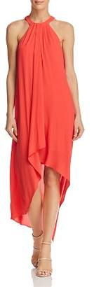 BCBGMAXAZRIA Lanna Draped High/Low Dress - 100% Exclusive